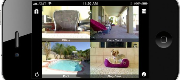 iCam app for iPhone