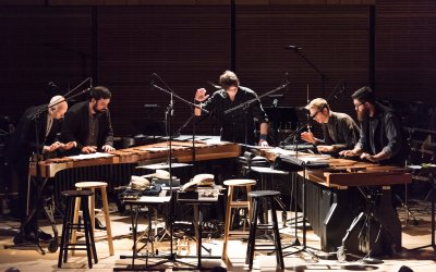 Review: So Percussion, Glenn Kotche and Shara Worden Join in Making a Joyful Noise