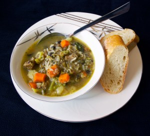Curried Goat Soup