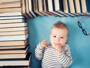 Babies and books