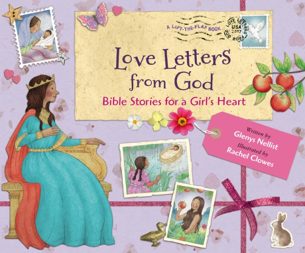 14 Heart-warming stories of grace. 14 women, 14 love letters, for girls 4-8