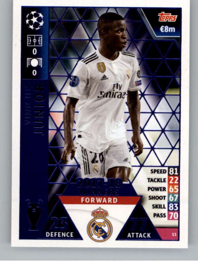 2018-19 Topps UEFA Champions League Match Attax #53 ...
