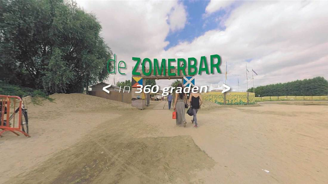 360 graden video Zomerbar Gletsjer
