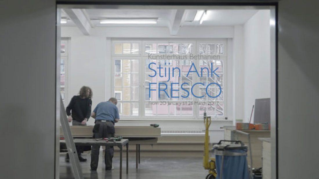Stijn Ank Fresco Künstlerhaus Bethanien