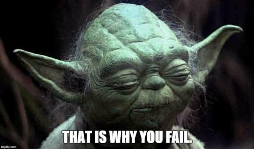Cosa sarebbe successo se...Star Wars (parte III) - Yoda tells 7