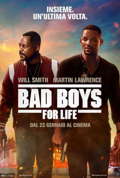 bad boys for life poster locandina cinema a gennaio