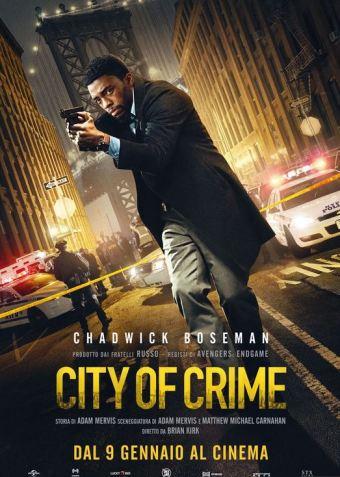 city of crime poster locandina cinema a gennaio