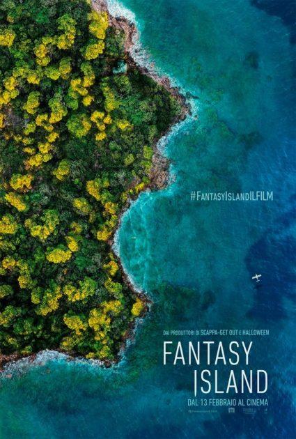 locandina film al cinema a febbraio fantasy island