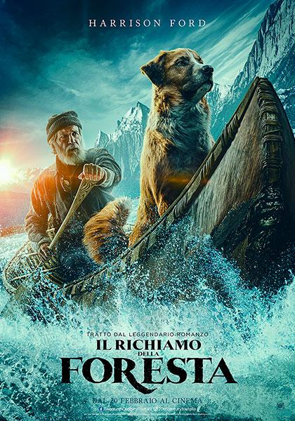 locandina film al cinema a febbraio il richiamo della foresta