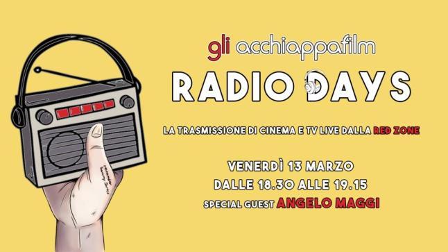 Radio Days: Gli acchiappafilm in diretta radio 3