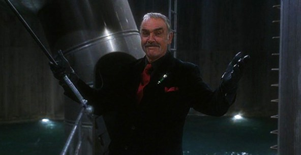 The Avengers Sean Connery