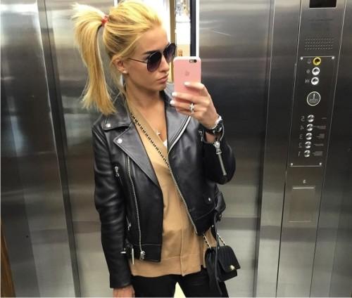 Ксения Бородина стала блондинкой