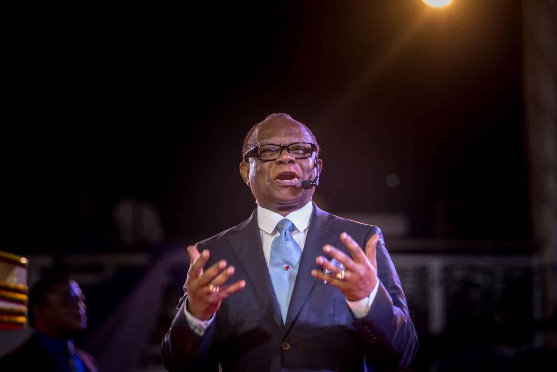 Rev. Felix I. Omobude ministering