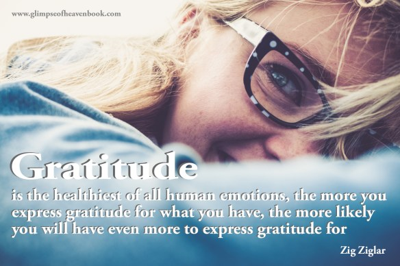 Gratitude is the healthiest of all human emotions, the more you express gratitude for what you have, the more likely you will have even more to express gratitude for Zig Ziglar