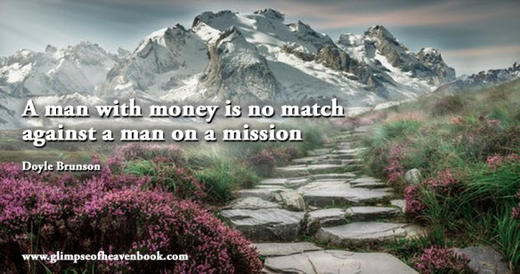 A man with money is no match against a man on a mission Doyle Brunson