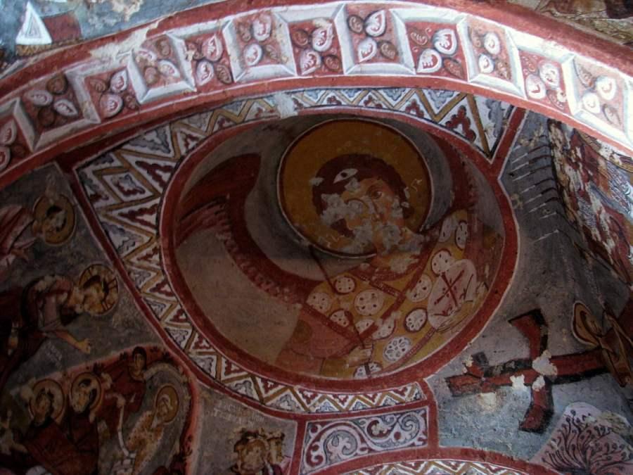 Kapadokija: ISUS SA JABUKOM U RUCI (12)