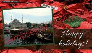 Greeting-card-Happy-Holidays-Istanbul-Turkey-Glimpses-of-The-World