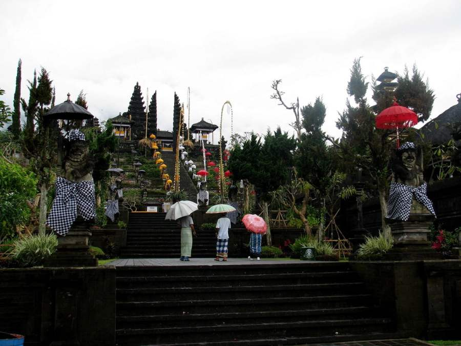 Bali Indonesia: THE MOTHER TEMPLE (3)