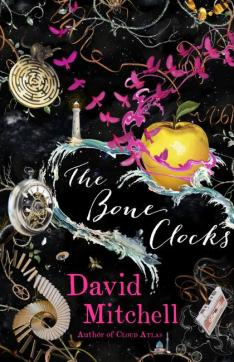 77.David Mitchell-The Bone Clocks jacket