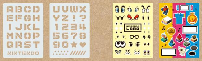 Nintendo Labo Customisation Set Components