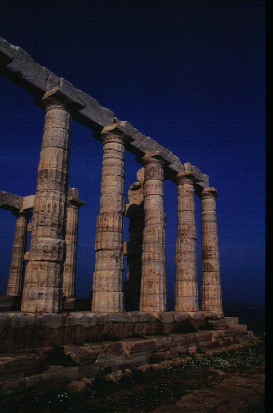 Capo Sounion, Tempio di Poseidone