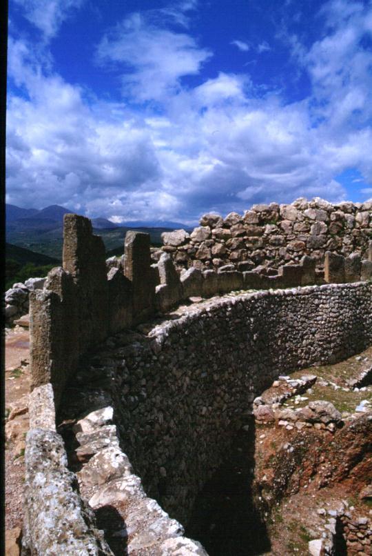 Micene, Circolo delle Tombe Reali, nell'Acropoli