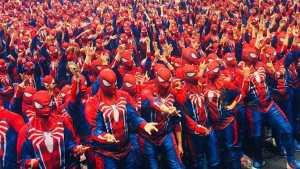 Spider-Man world record