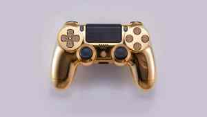 Golden DualShock