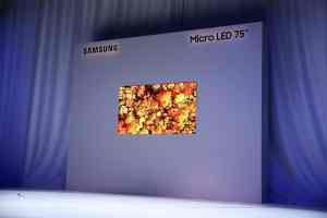 Samsung 75-inch MicroLED