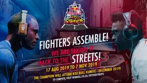 Red bull hit the streets street fighter V