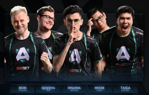 Team Liquid Dota 2 roster Dota 2 esports Alliance