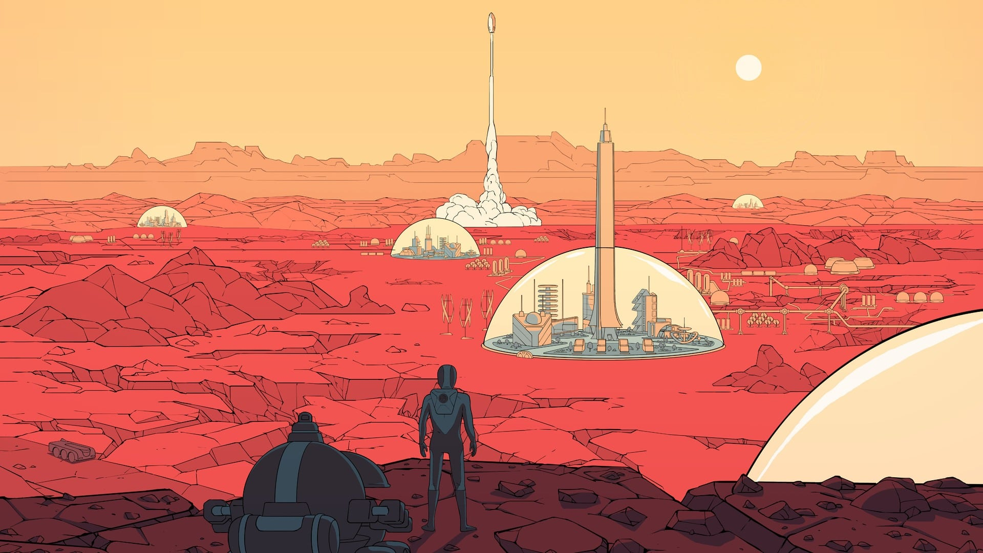free game epic games store surviving mars Haemimont Games Paradox Interactive
