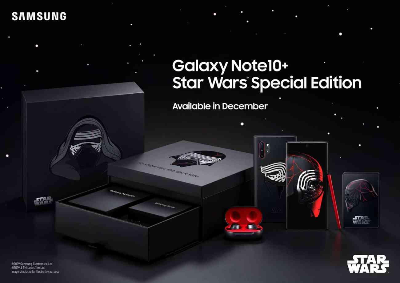 Samsung Star Wars-Themed Galaxy Note 10 Plus