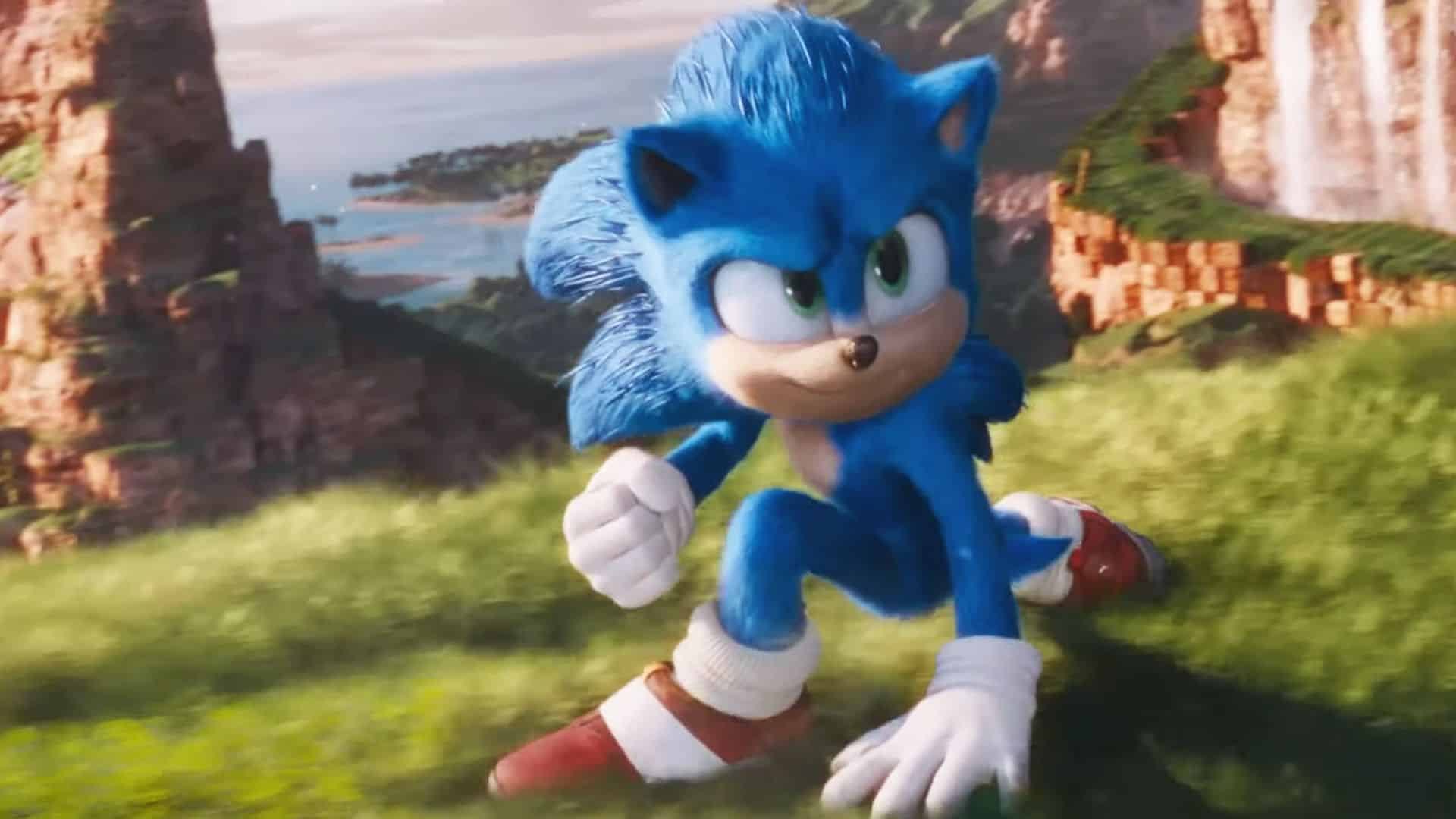 New Sonic the Hedgehog trailer movie Paramount Pictures SEGA