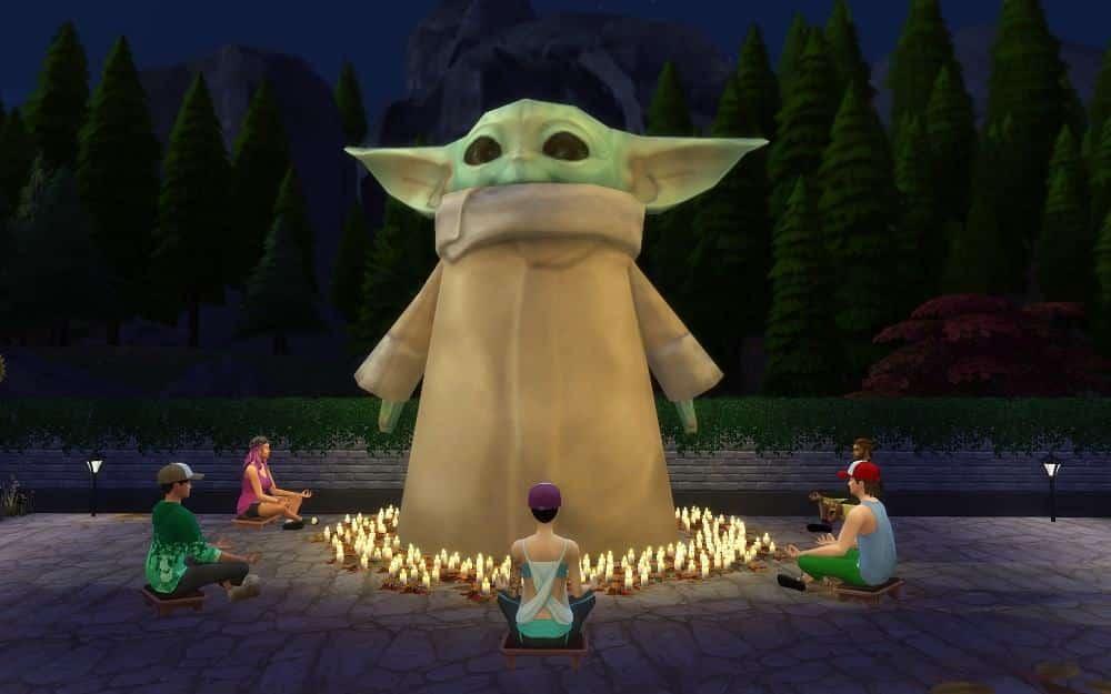 The Sims 4 Baby Yoda Electronic Arts The Mandalorian