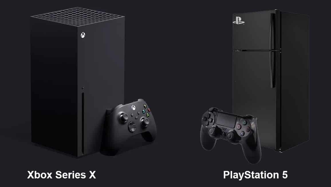 PlayStation 5 Fridge PS5 Sony Microsoft Xbox Series X