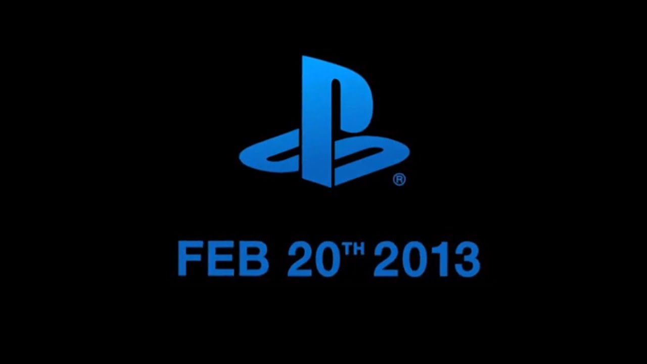 PS4 Announcement Sony PlayStation 4 PS5