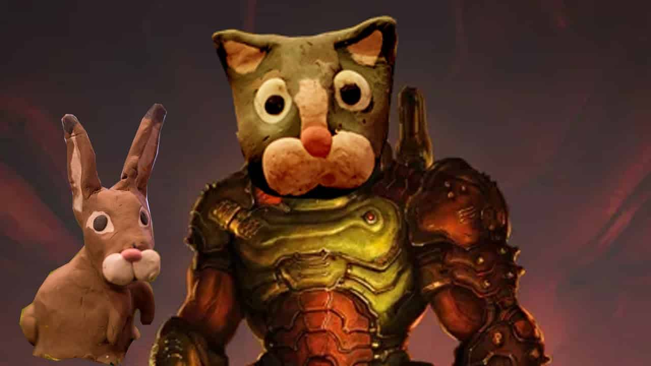 DOOM Eternal Claycat Claymation