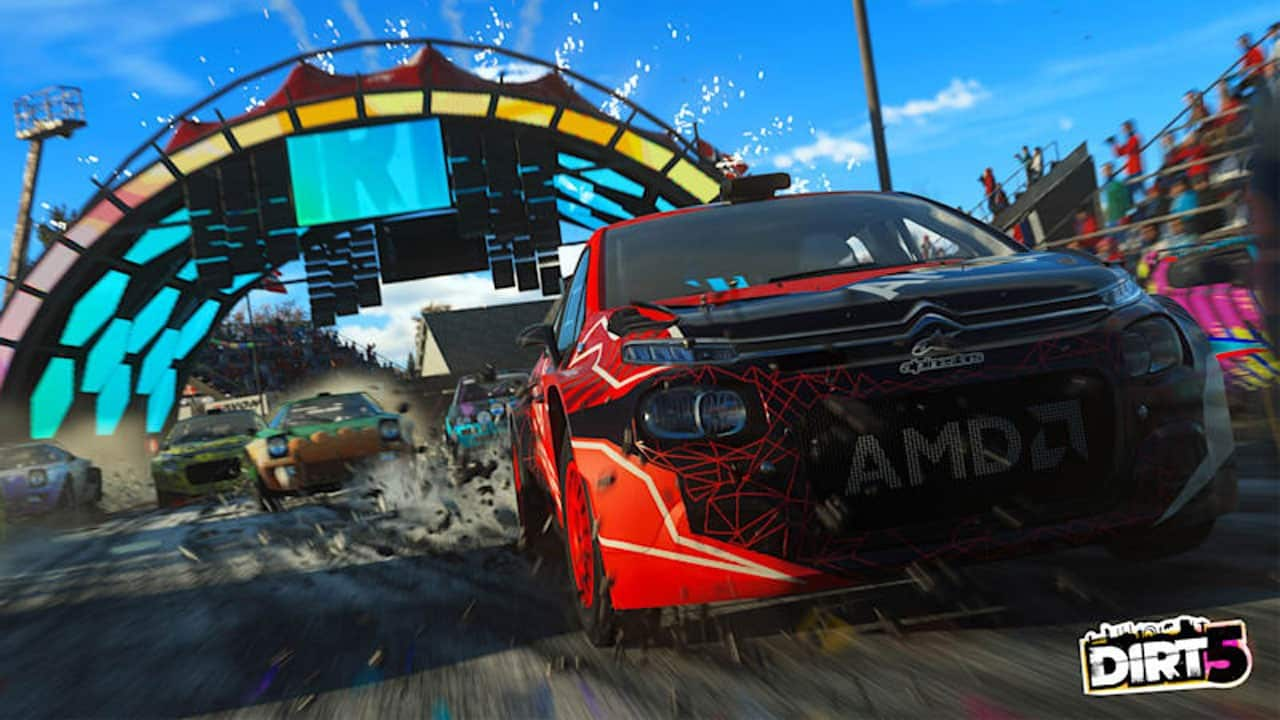 Dirt 5 PC System Requirements Troy Baker Nolan North Codemasters
