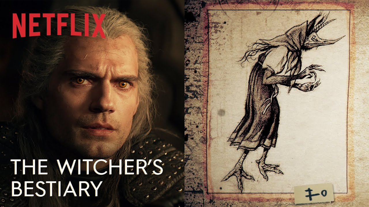 Netflix The Witcher Bestiary