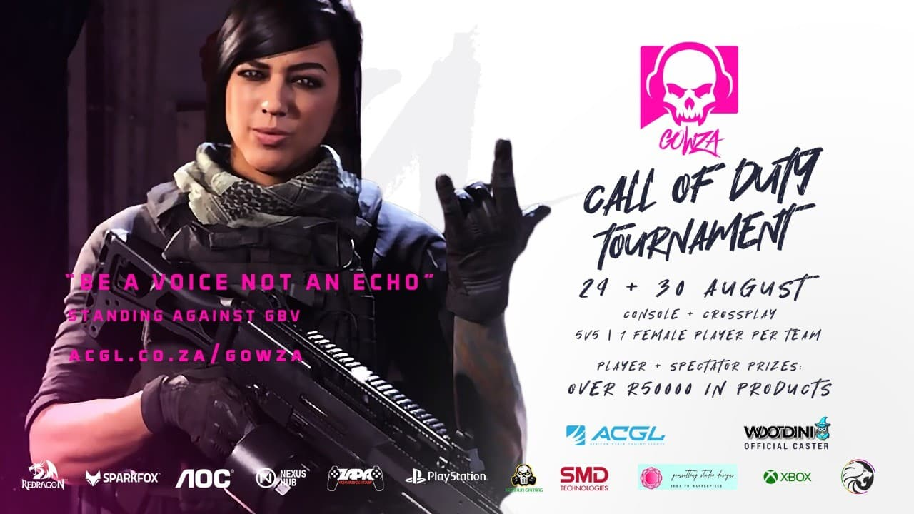 GOWZA Call of Duty Pink Tournament