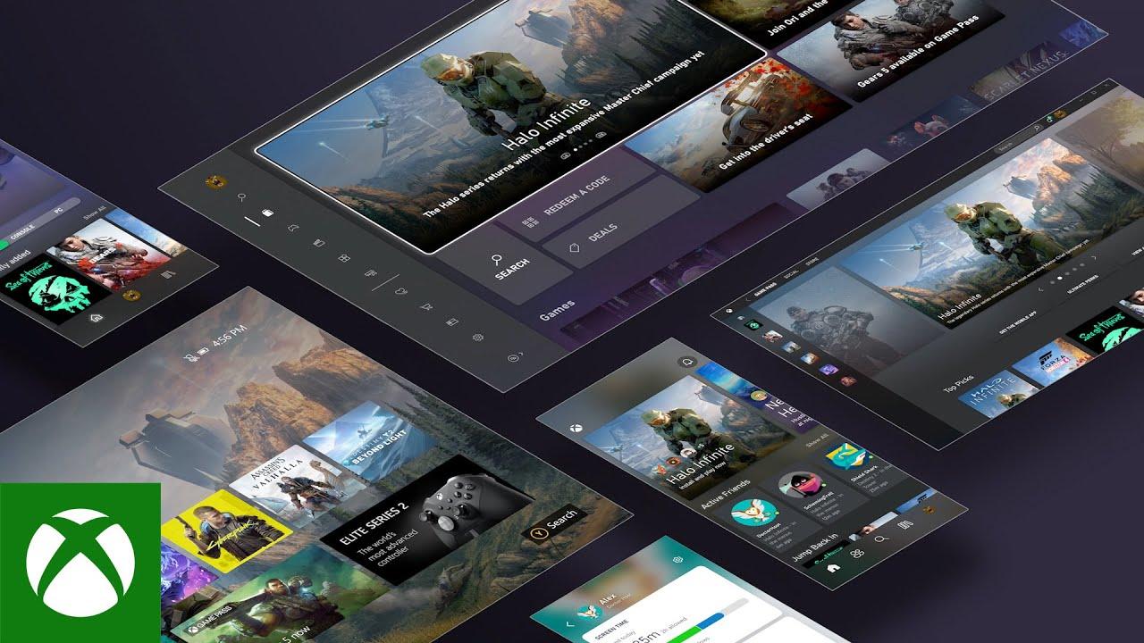 Xbox Series X One Dashboard