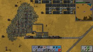 Factorio trains