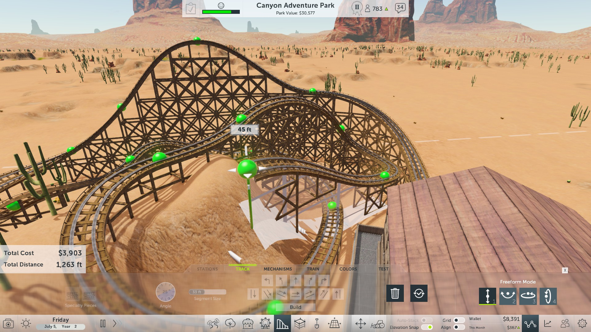 RollerCoaster Tycoon World Review (PC) - GlitchFreeGaming