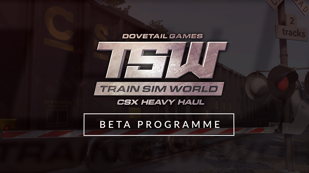 Train Sim World: CSX Heavy Haul Beta Programme