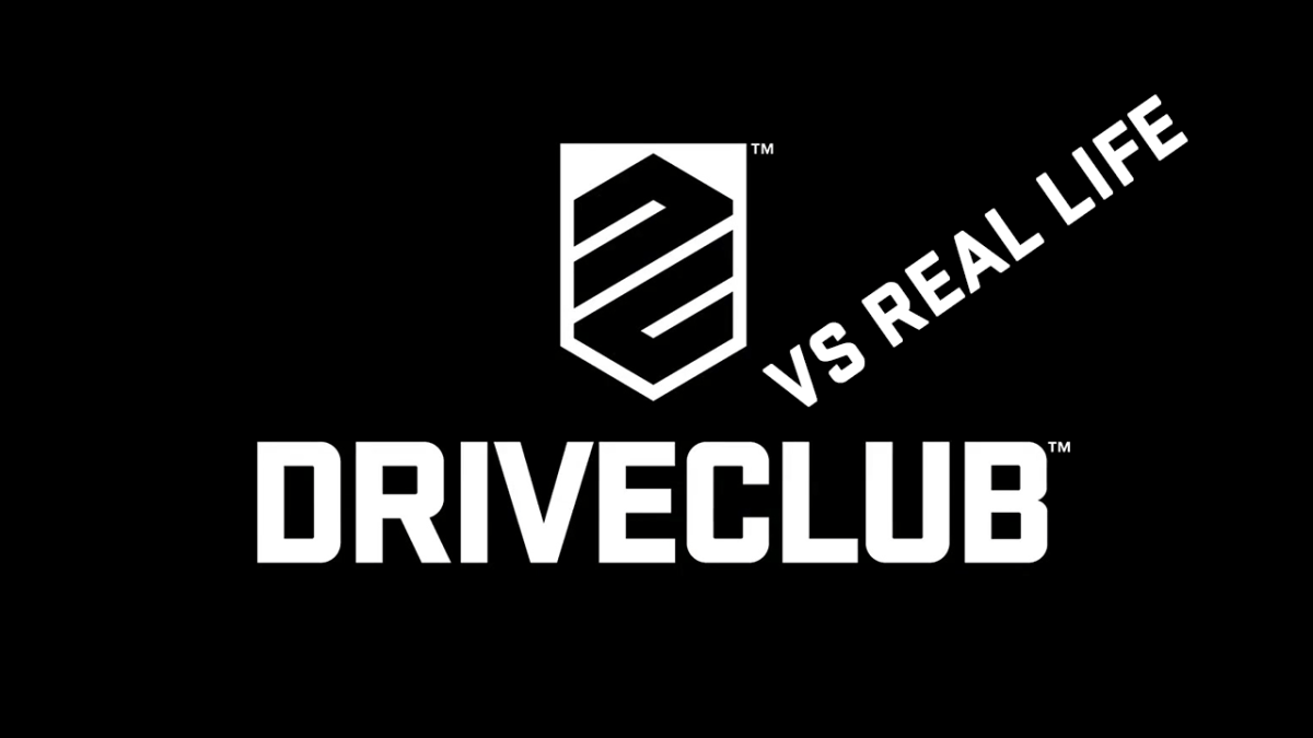 Driveclub Vs Real Life - The Kyle