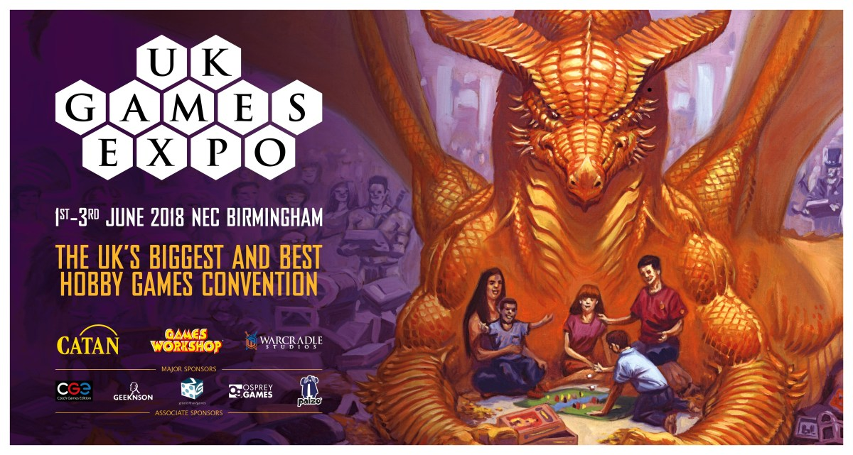 UK Games Expo 2018 - The Second One