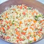 orzo vegetable salad