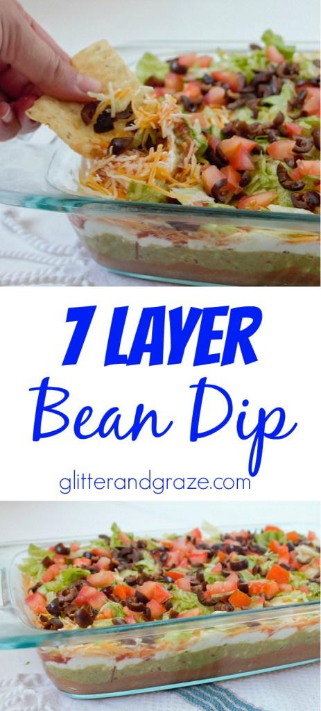 7 layer bean dip
