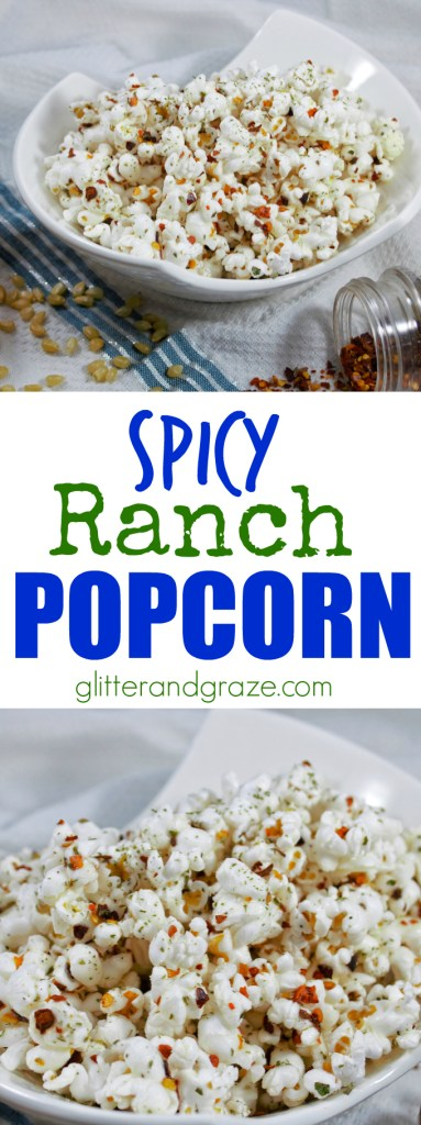 spicy ranch popcorn
